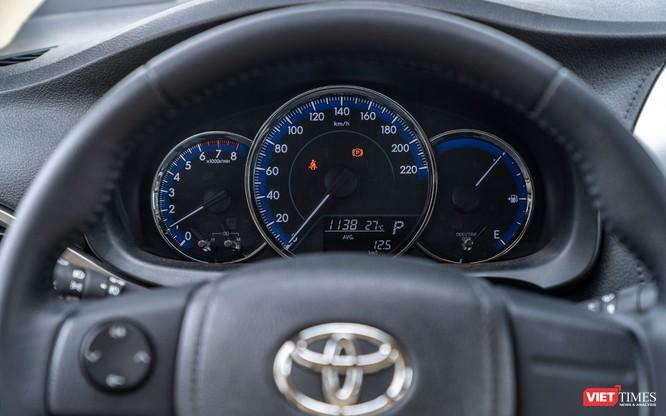 Toyota Vios 2018: Khi ngôi vương không chỉ nhờ vào thương hiệu ảnh 48