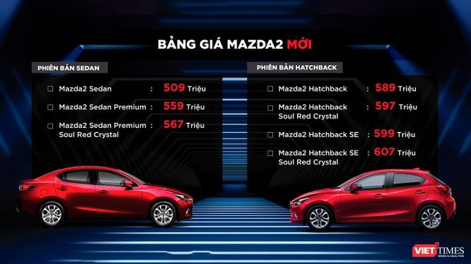 Mazda 2 2018 chính thức ra mắt với 7 phiên bản, giá từ 509 - 607 triệu đồng ảnh 14