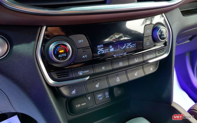 Yết giá 995 triệu đồng, Hyundai Santa Fe 2019 tiêu chuẩn được trang bị những gì? ảnh 5