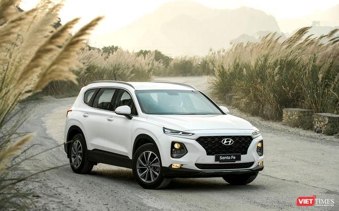 Yết giá 995 triệu đồng, Hyundai Santa Fe 2019 tiêu chuẩn được trang bị những gì? ảnh 26