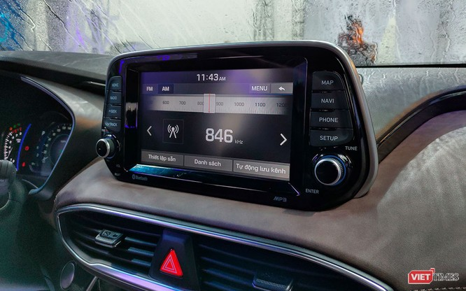 Yết giá 995 triệu đồng, Hyundai Santa Fe 2019 tiêu chuẩn được trang bị những gì? ảnh 16