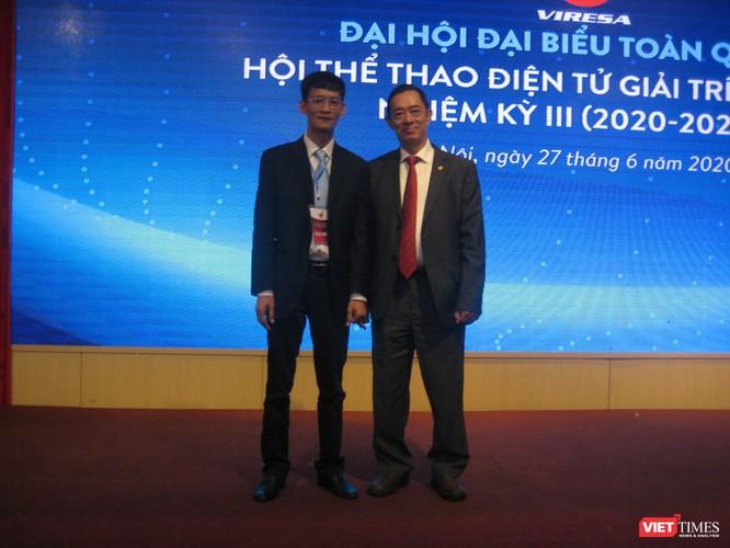 Ông Nguyễn Xuân Cường trở thành tân Chủ tịch Hội Thể thao Điện tử Giải trí Việt Nam ảnh 1