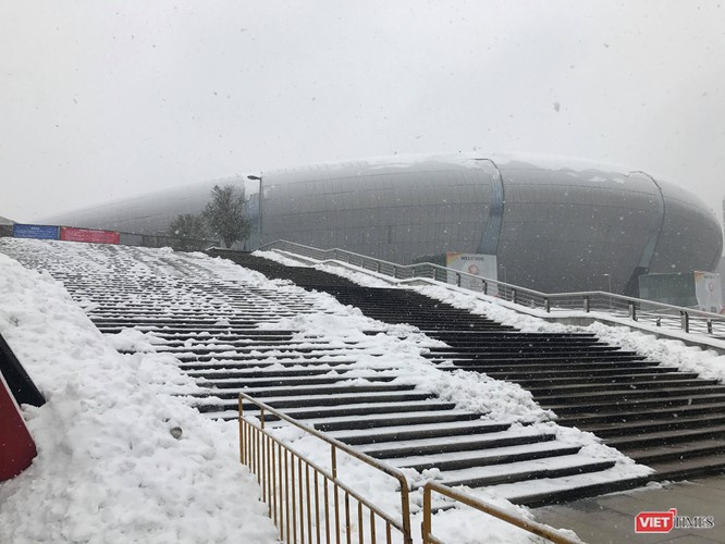 Mới nhất: Tuyết rơi trở lại ngày một dày hơn ở Thường Châu, AFC thông báo không hoãn chung kết ảnh 11