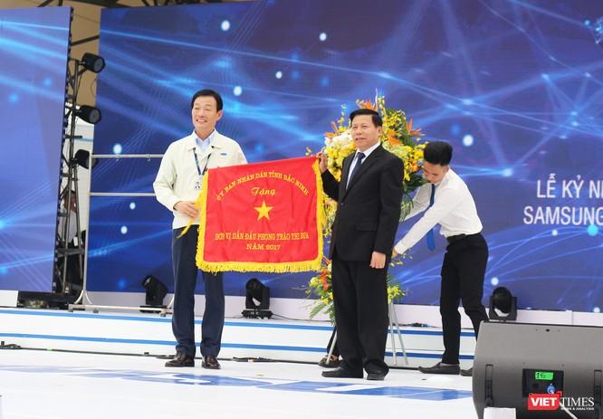 Toàn cảnh lễ kỷ niệm 10 năm Samsung Electronics phát triển vượt kỳ tích tại Việt Nam ảnh 11