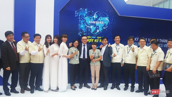 Toàn cảnh lễ kỷ niệm 10 năm Samsung Electronics phát triển vượt kỳ tích tại Việt Nam ảnh 20