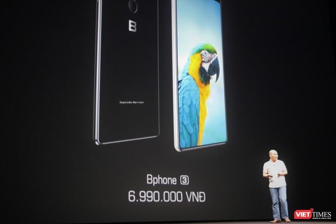 Bphone 3: Thiết kế tràn viền, kháng nước chuẩn IP68, giá từ 6,99 triệu ảnh 22