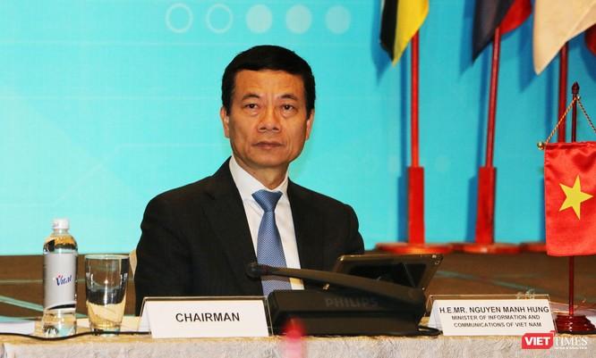 Bộ trưởng Nguyễn Mạnh Hùng đề xuất ASEAN chung tay phát triển 5G ảnh 1