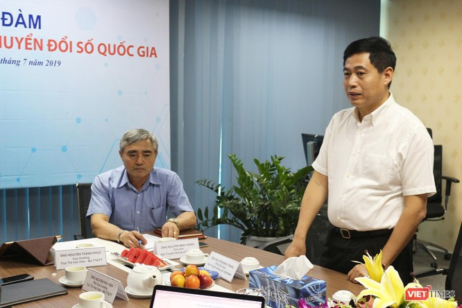 Hội Truyền thông số Việt Nam tổ chức tọa đàm góp ý dự thảo Đề án Chuyển đổi số Quốc gia ảnh 1