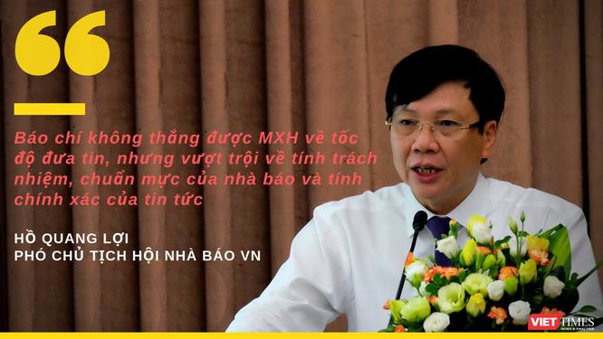 """Phó Chủ tịch Hội Nhà báo Việt Nam: """"Bảo vệ cái tốt, đấu tranh chống lại cái xấu chính là chuẩn mực"""" ảnh 1"""
