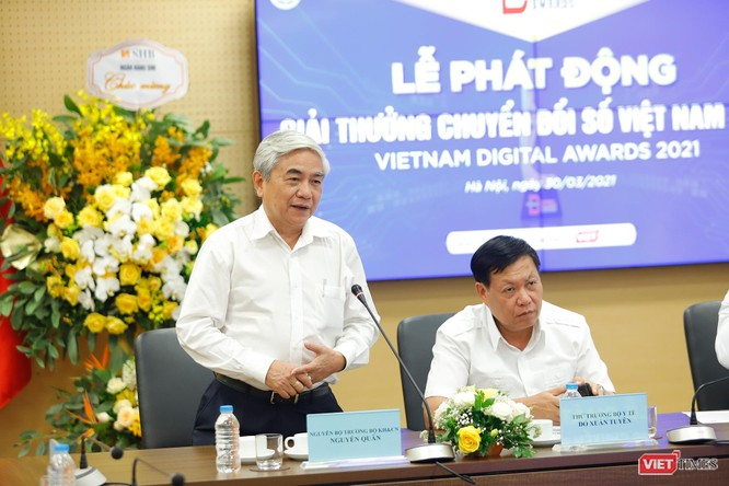 Giải thưởng Chuyển đổi số Việt Nam 2021 với nhiều nét mới ảnh 3