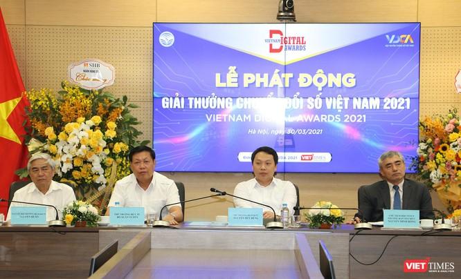Giải thưởng Chuyển đổi số Việt Nam 2021 với nhiều nét mới ảnh 5
