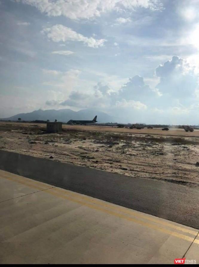 Hạ cánh nhầm xuống đường băng đang xây ở sân bay Cam Ranh ảnh 4