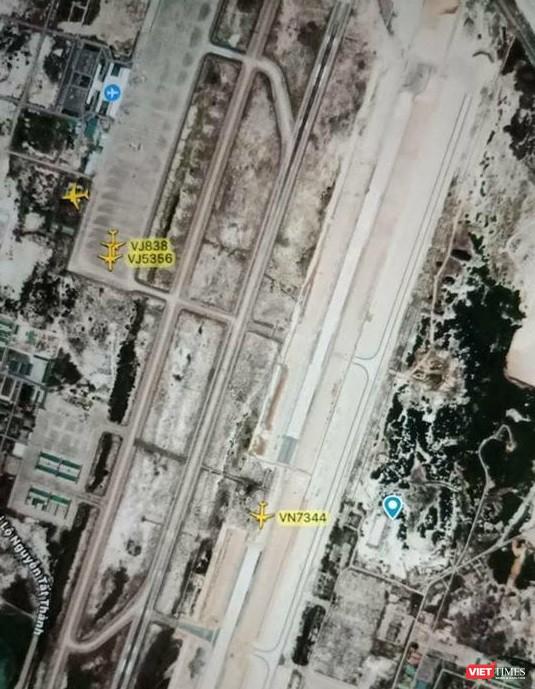 Hạ cánh nhầm xuống đường băng đang xây ở sân bay Cam Ranh ảnh 1