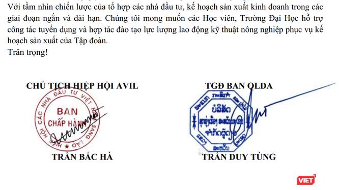 Cha con ông Trần Bắc Hà từng đăng tuyển hàng nghìn kỹ sư nông nghiệp cho dự án tại Lào ảnh 1
