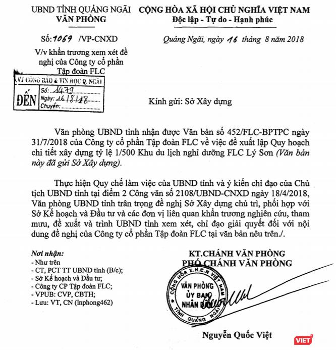 Thấy gì từ việc FLC Faros lập thêm 2 công ty bất động sản ở huyện Bình Sơn, Quảng Ngãi? ảnh 1
