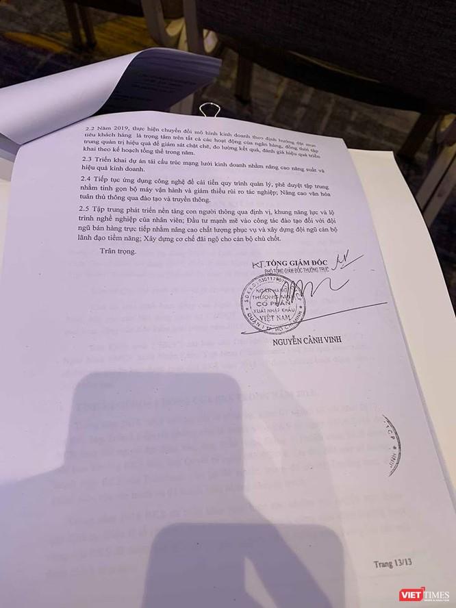 Không đủ túc số, ĐHĐCĐ Eximbank không thể tiến hành, hẹn sang tháng tổ chức lại ảnh 10