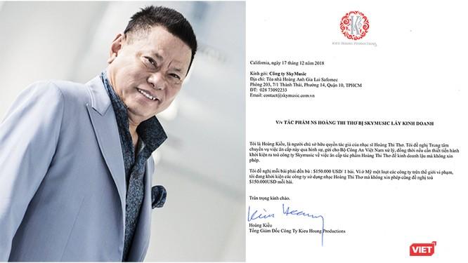 Sốc: Tỷ phú Hoàng Kiều kiện Sky Music đòi đền bù 150.000 USD/bài