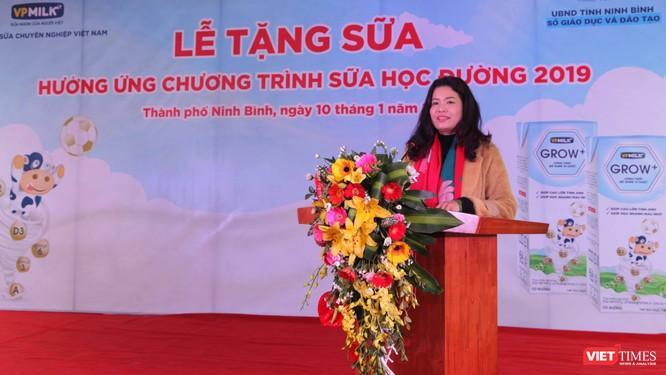 Bà Nguyễn Thị Thu Phương lên đường tham gia những chương trình tặng sữa ngay những ngày đầu tiên của năm mới 2019