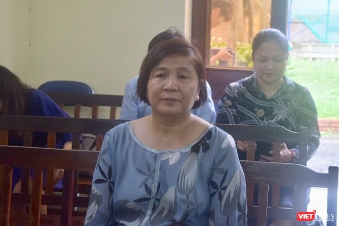 Bà Phan Thị Mỹ Hạnh tại phiên tòa sáng 3/9