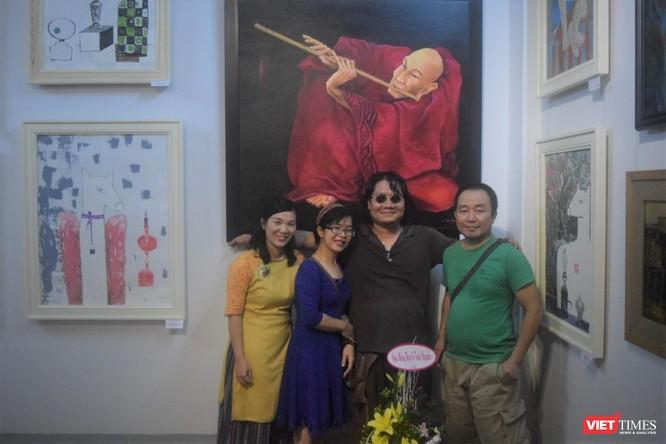 Họa sĩ Nguyễn Tuấn - tác giả của tranh sơn dầu