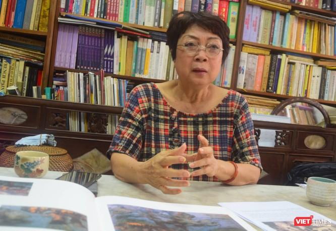 Họa sĩ Nguyễn Thị Hiền lên tiếng vụ giả tranh Nguyễn Sáng bán trên Sotheby's ảnh 10