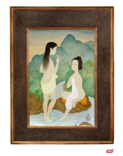 """""""Những người phụ nữ tắm"""" của Mai Trung Thứ bán ra hơn 9 tỷ đồng ảnh 4"""