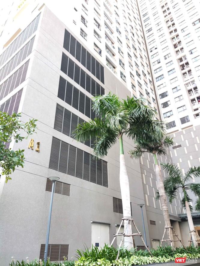 Tòa tháp A1 trong khu căn hộ cao cấp tại Quận 4