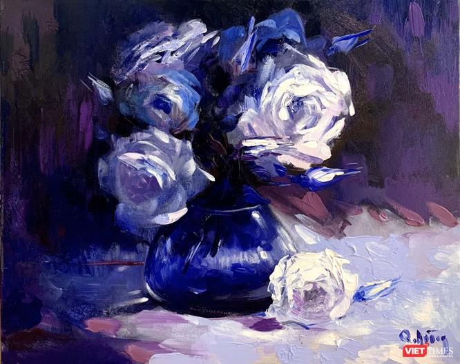 Ánh sáng hoa hồng (họa sĩ Trần Quang Dũng)