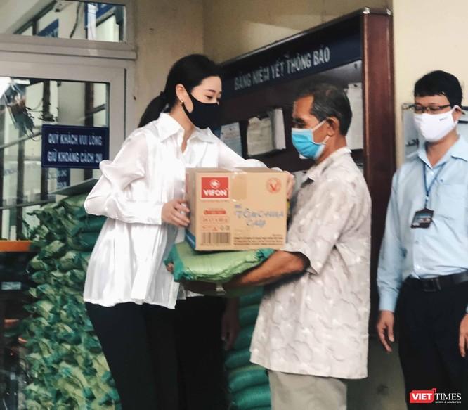 Khánh Vân cho biết rất mong được chung tay giúp người nghèo