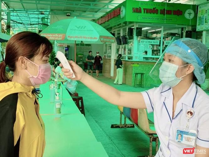 Kiểm soát nguy cơ lây nhiễm tại các BV lớn trên địa bàn TP.HCM (Ảnh: TTKSNK)