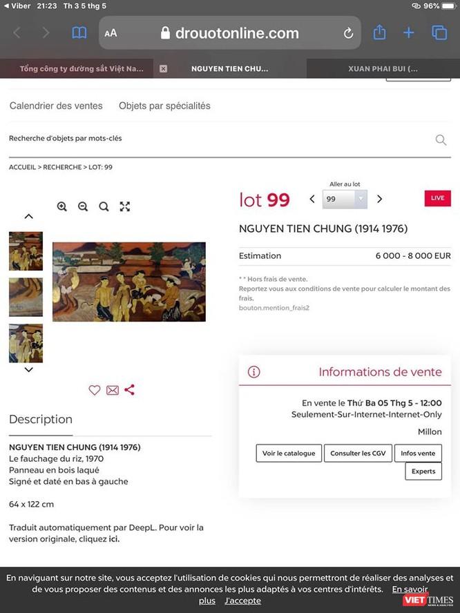 Lại nóng chuyện đấu giá tranh xấu ký tên danh họa bán giá cao ảnh 2
