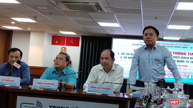 Ông Từ Lương, Phó GĐ Sở Thông tin truyền thông TP.HCM