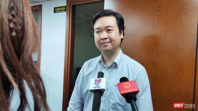 PGS. TS. Trần Minh Triết, Phó Hiệu trưởng trường Đại học Khoa học Tự nhiên – Đại học Quốc gia TP. HCM (Ảnh: Hòa Bình)