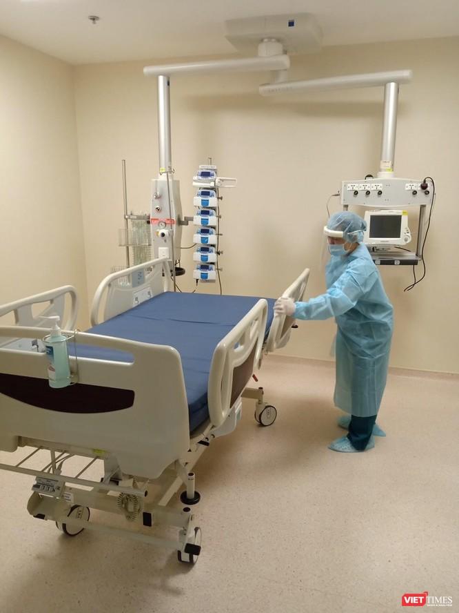 BV Quốc tế City không nhận bệnh đến ngày 3/8 để phòng, chống dịch COVID-19 (Ảnh: BVCC)