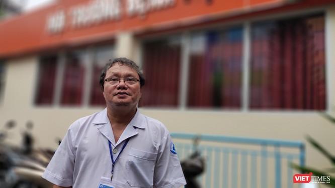 BS Trương Hữu Khanh, Trưởng Khoa Nhiễm, Thần kinh (BV Nhi Đồng 1, TP.HCM) - Ảnh: Hòa Bình