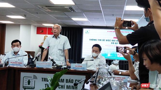 Ông Phan Nguyễn Như Khuê, Trưởng ban Tuyên giáo Thành ủy TP.HCM (Ảnh: Hòa Bình)