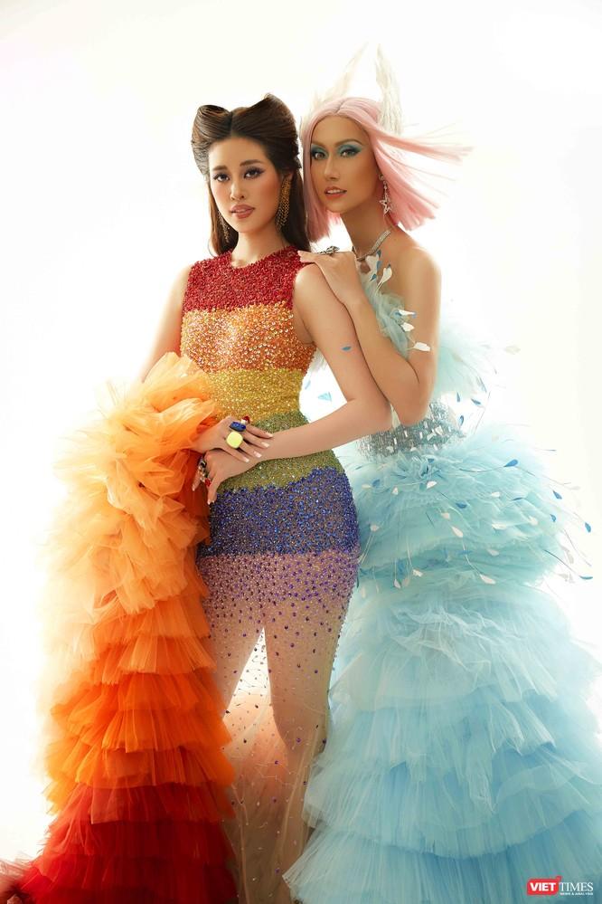Hoa hậu Khánh Vân và Lynk Lee