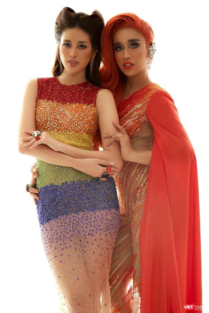 Hoa hậu Khánh Vân và Nhật Anh