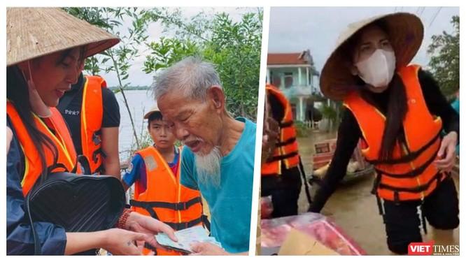 """""""Sao"""" Việt bày tỏ nhiều hành động thương về Miền Trung bão lũ ảnh 1"""