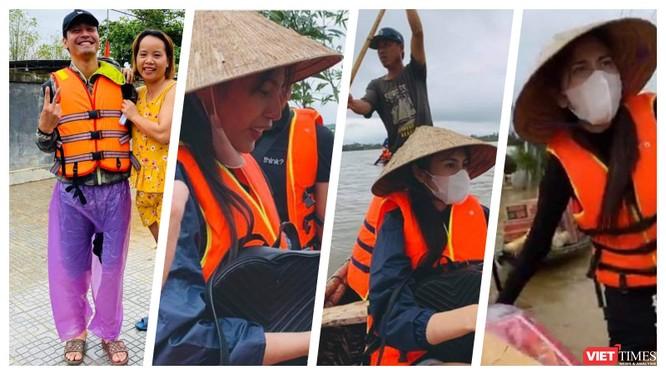 """Các """"sao"""" quyên góp ủng hộ người dân thiệt hại do mưa lũ: Phù hợp với quy định của pháp luật dân sự ảnh 1"""