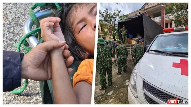 Dốc toàn lực, đưa cả máy bay và tàu thuỷ vào cứu dân Trà Leng ảnh 2