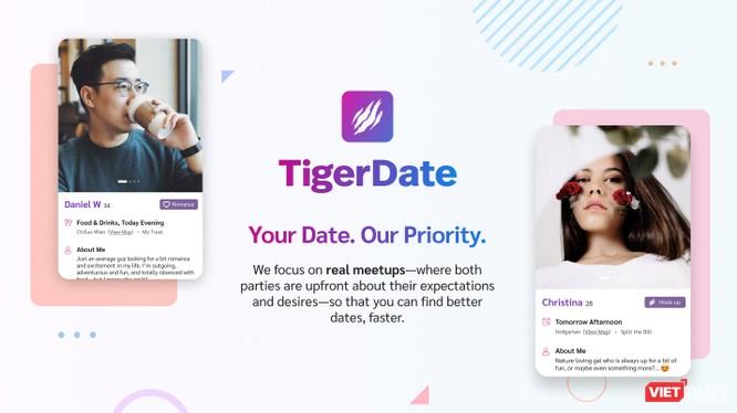 Nền tảng hẹn hò TigerDate giúp con người gần nhau hơn ảnh 1