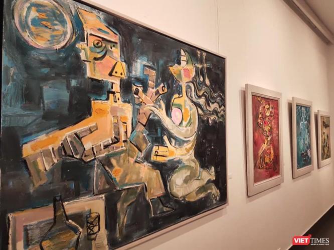 """Độc đáo triển lãm các tác phẩm hội họa """"Truyện Kiều"""" ảnh 1"""