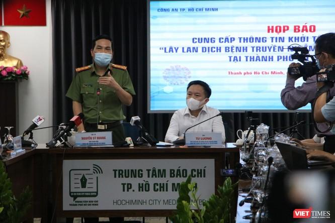 Công an TP.HCM chính thức khởi tố vụ án lây nhiễm COVID-19 ảnh 2