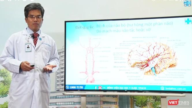 Trưởng Trung tâm Khoa học Thần kinh - bác sĩ Nguyễn Bá Thắng nói về bệnh đột quỵ ở lứa tuổi trẻ ảnh 3