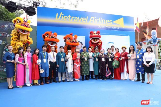 Tưng bừng sắc màu ở Lễ hội Tết Việt 2021 ảnh 12