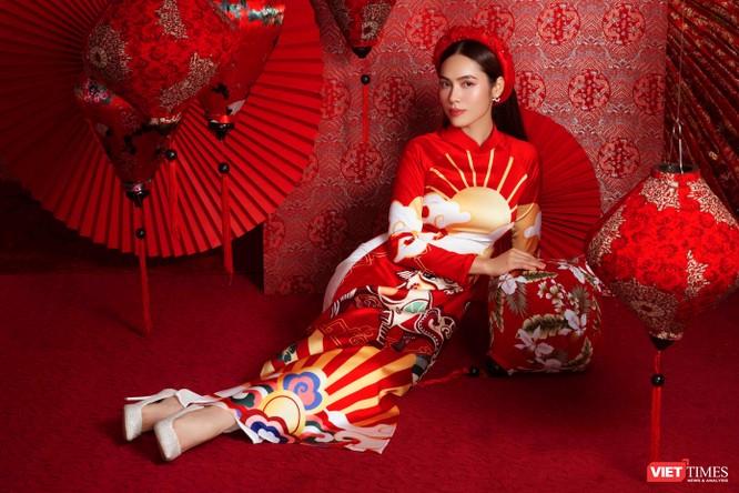 Hoa hậu, Á hậu rạng rỡ chúc Tết Tân Sửu 2021 ảnh 5