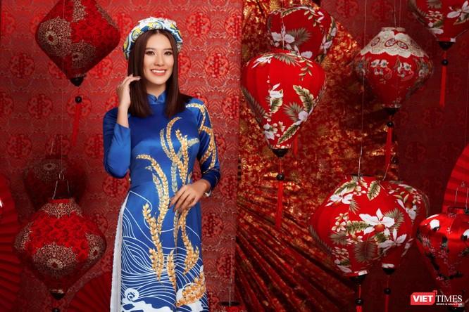 Hoa hậu, Á hậu rạng rỡ chúc Tết Tân Sửu 2021 ảnh 7
