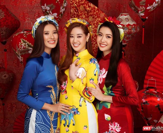 Hoa hậu, Á hậu rạng rỡ chúc Tết Tân Sửu 2021 ảnh 4