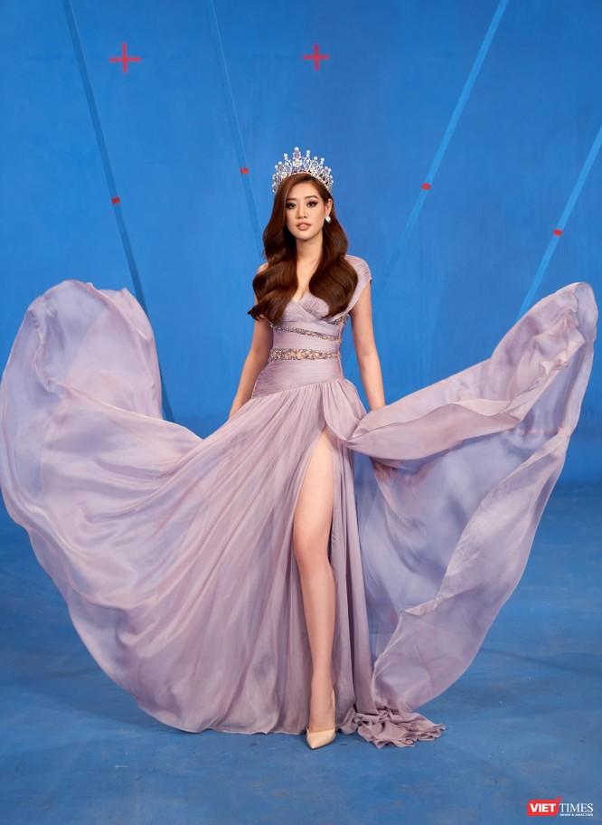 Hoa hậu Khánh Vân hoá thân thành chiến binh chống COVID-19 ảnh 8